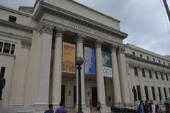 博物馆国家菲律宾 图库摄影