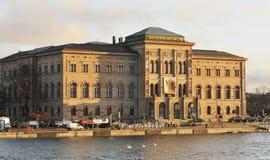 博物馆国民斯德哥尔摩 库存照片