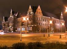 博物馆国民wroclaw 免版税库存照片