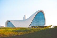 博物馆在巴库 库存图片