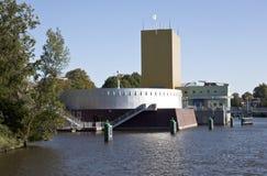 博物馆在市格罗宁根,荷兰 库存照片