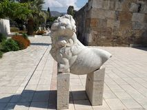 博物馆在希拉波利斯(土耳其) 库存照片