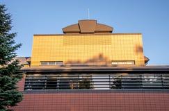 博物馆在Kernave 免版税库存照片