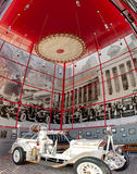 博物馆垂直的全景  免版税图库摄影