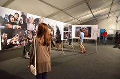 博物馆夜布加勒斯特-世界新闻摄影比赛的2 免版税图库摄影