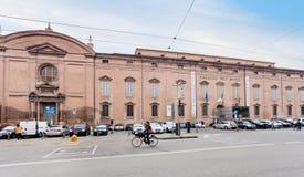 博物馆宫殿在摩德纳,意大利 免版税库存图片