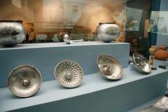 博物馆展览显示 库存图片