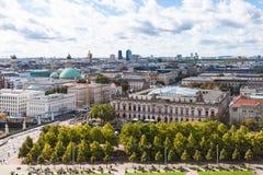 博物馆岛的Lustgarten公园在柏林 免版税库存照片