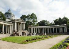 博物馆庄园Arkhangelskoe莫斯科地区俄罗斯看法  图库摄影