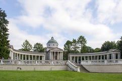 博物馆庄园Arkhangelskoe莫斯科地区俄罗斯看法  免版税库存照片