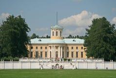 博物馆庄园Arkhangelskoye (18世纪)位于大约20公里对从莫斯科的西部 免版税图库摄影