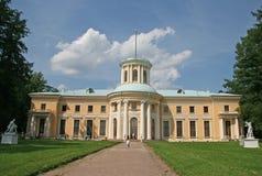 博物馆庄园Arkhangelskoye (18世纪)位于大约20公里对从莫斯科的西部 图库摄影