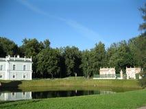 博物馆庄园Kuskovo在莫斯科 免版税库存图片