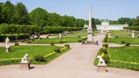 博物馆庄园kuskovo,莫斯科,俄罗斯 免版税库存照片