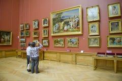 博物馆彼得斯堡俄国st 库存图片