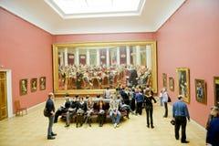 博物馆彼得斯堡俄国st 免版税库存图片