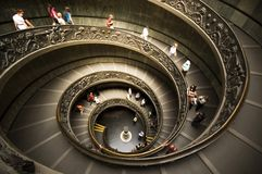博物馆楼梯 免版税图库摄影