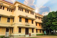 博物馆泰国Sanamchai路位于曼谷,泰国 库存照片