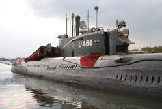 博物馆潜水艇 免版税库存照片