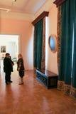 博物馆的人们 免版税图库摄影