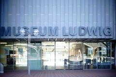博物馆路德维希科隆 库存照片