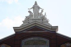 博物馆雕塑 免版税库存照片