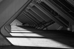 博物馆细节在巴伦西亚 免版税图库摄影