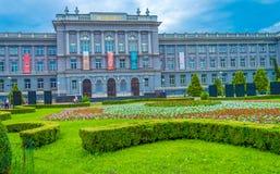 博物馆Mimara在萨格勒布 库存照片