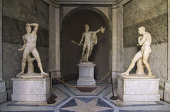 博物馆perseus梵蒂冈 免版税库存照片