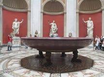 博物馆piocementino梵蒂冈 免版税库存照片