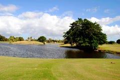 博纳旺蒂尔县俱乐部高尔夫球场 免版税库存照片