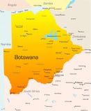 博茨瓦纳 向量例证