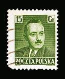 博莱斯瓦夫Bierut (1892-1956), serie总统,大约1950年 库存照片