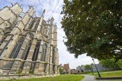 博韦(Picardie) -大教堂 免版税库存照片