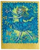 占卜用的纸牌-舞蹈 库存照片
