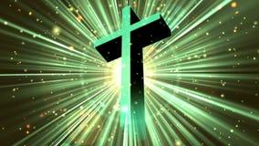 占卦崇拜十字架4 Loopable背景 皇族释放例证