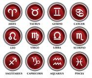 占星图标 皇族释放例证