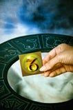占星术山羊座符号 免版税库存照片