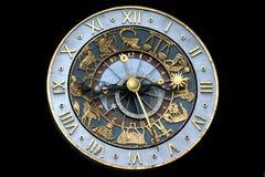 占星术时钟 库存图片