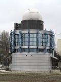 占星术观测所望远镜圆顶现代大厦  库存图片