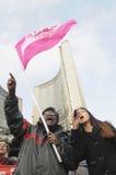 占领运动。 免版税库存照片