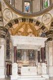 卡佩拉二圣乔瓦尼,圣洛伦佐大教堂 免版税库存图片