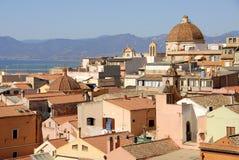 卡利亚里意大利撒丁岛 库存照片