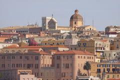 卡利亚里撒丁岛 免版税图库摄影