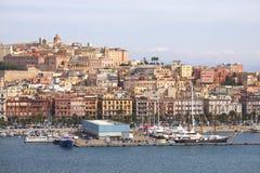 卡利亚里撒丁岛 库存图片