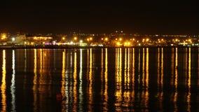 卡利亚里海湾 免版税库存照片