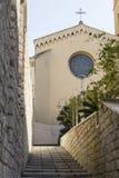 卡利亚里:圣尤拉莉亚-撒丁岛教会  免版税库存照片