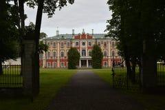 卡利柯治Catherins公园在塔林爱沙尼亚 免版税库存图片