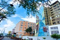 卡利,哥伦比亚的中心 免版税图库摄影