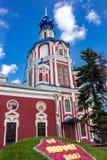 卡卢加州,俄罗斯- 2017年8月:圣约翰教会先行者 免版税库存照片
